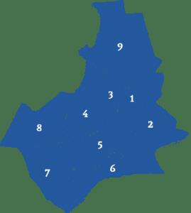 Makelaars vergelijken in verschillende stadsdelen in Nijmegen