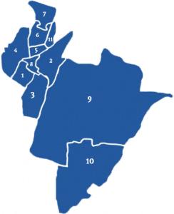 Makelaars vergelijken in wijken in Alkmaar (kaart)