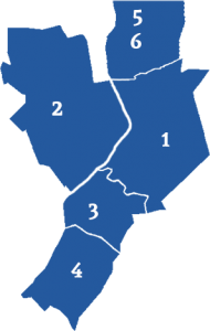 Makelaars vergelijken in wijken in Venlo (kaart)